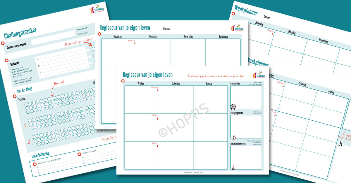 Visual thinking templates voor Startvalue